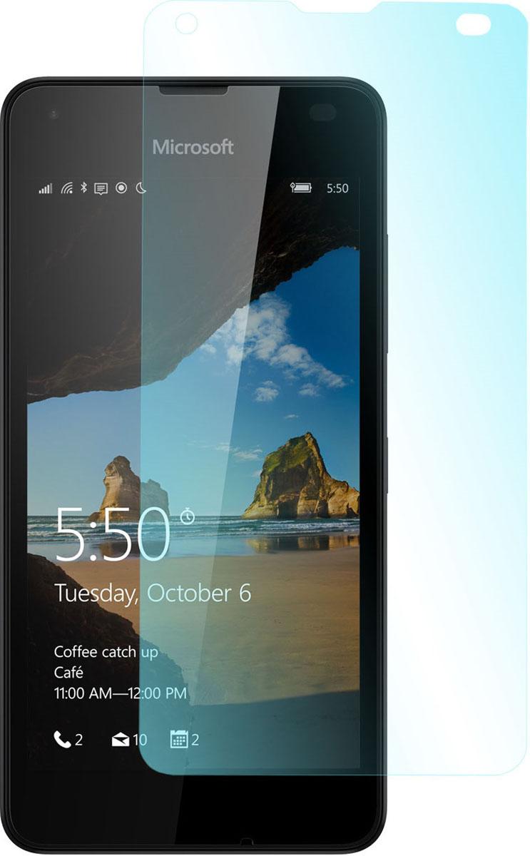 Skinbox защитное стекло для Microsoft Lumia 550, глянцевоеSP-194Защитное стекло Skinbox для Microsoft Lumia 550 обеспечивает надежную защиту сенсорного экрана устройства от большинства механических повреждений и сохраняет первоначальный вид дисплея, его цветопередачу и управляемость. В случае падения стекло амортизирует удар, позволяя сохранить экран целым и избежать дорогостоящего ремонта. Стекло обладает особой структурой, которая держится на экране без клея и сохраняет его чистым после удаления.