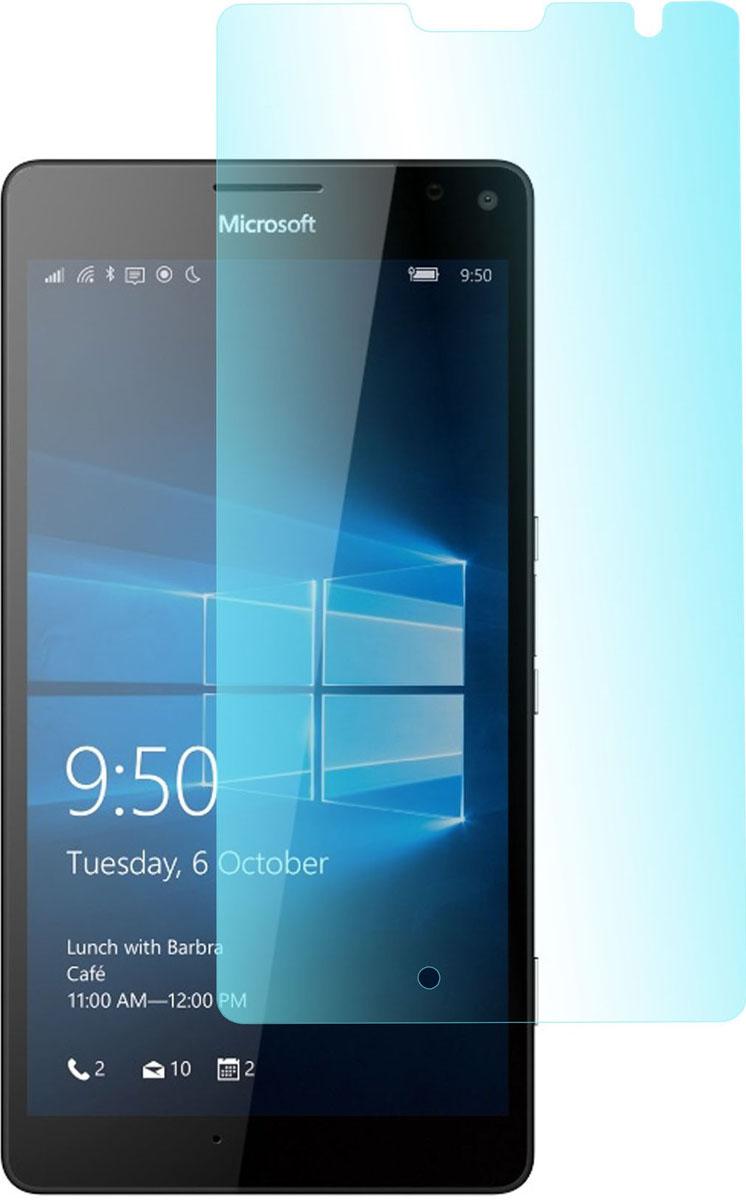 Skinbox защитное стекло для Microsoft Lumia 950XL, глянцевоеSP-193Защитное стекло Skinbox для Microsoft Lumia 950XL обеспечивает надежную защиту сенсорного экрана устройства от большинства механических повреждений и сохраняет первоначальный вид дисплея, его цветопередачу и управляемость. В случае падения стекло амортизирует удар, позволяя сохранить экран целым и избежать дорогостоящего ремонта. Стекло обладает особой структурой, которая держится на экране без клея и сохраняет его чистым после удаления.