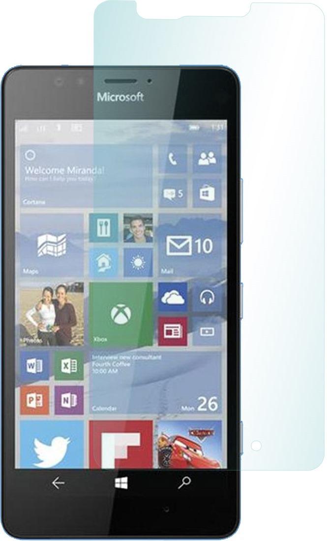 Skinbox защитное стекло для Microsoft Lumia 950, глянцевоеSP-192Защитное стекло для Microsoft Lumia 950
