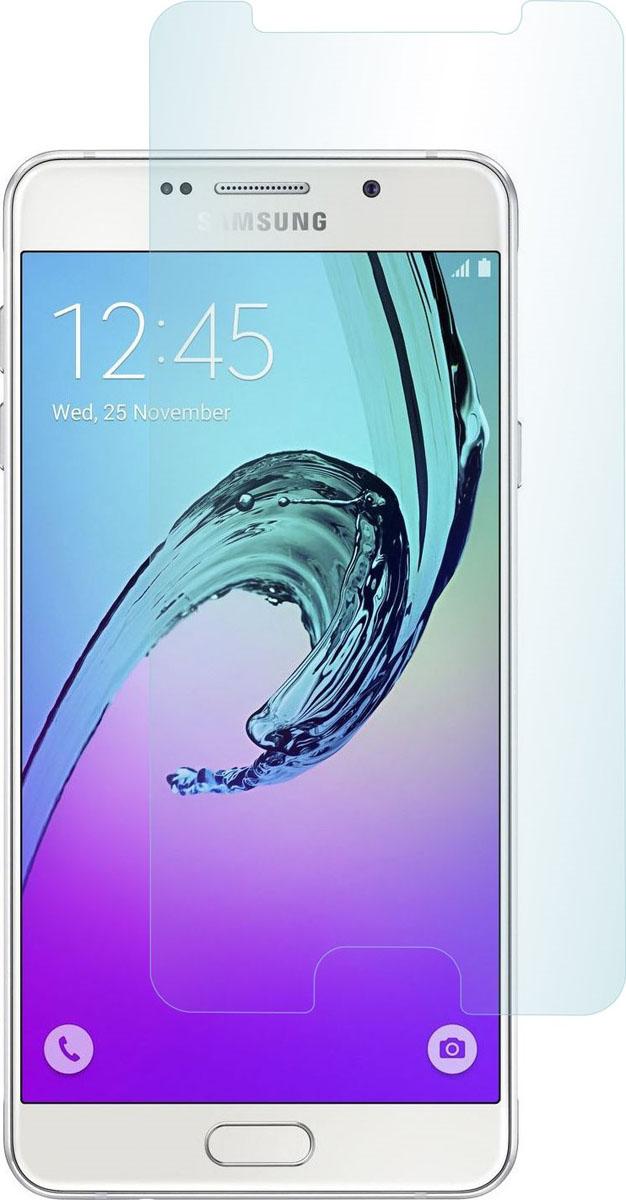 Skinbox защитное стекло для Samsung Galaxy A3 (2016), глянцевоеSP-236Защитное стекло Skinbox для Samsung Galaxy A3 (2016) обеспечивает надежную защиту сенсорного экрана устройства от большинства механических повреждений и сохраняет первоначальный вид дисплея, его цветопередачу и управляемость. В случае падения стекло амортизирует удар, позволяя сохранить экран целым и избежать дорогостоящего ремонта. Стекло обладает особой структурой, которая держится на экране без клея и сохраняет его чистым после удаления.