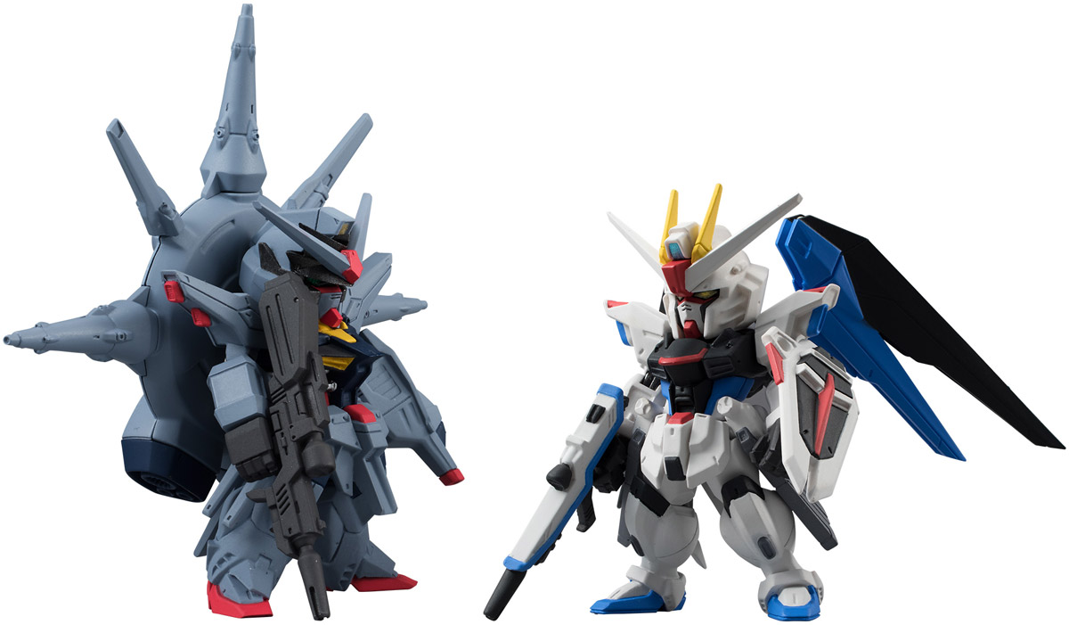 Bandai Фигурка Gundam Converge FW Sp07 Freedom & Providence mobile suit gundam the origin volume 1 activation