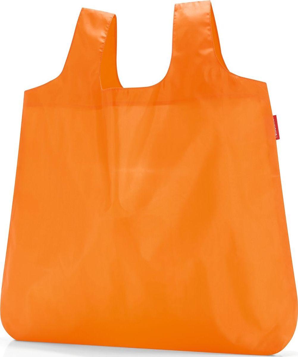 Сумка складная Reisenthel, цвет: оранжевый. AO2024AO2024Стильная и практичная сумка Reisenthel для походов по магазинам. Экологичная альтернатива одноразовым пакетам. Компактно складываться в небольшой чехольчик и может поместиться даже в карман. У чехла есть карабин, что позволяет прикрепить его к сумке или рюкзаку. Вместительная и прочная сумка будет всегда под рукой на случай непредвиденных покупок.Размер в сложенном состоянии: 10 х 6 х 2 см. Удобные широкие лямки для переноски в руках. Объем: 15 л.