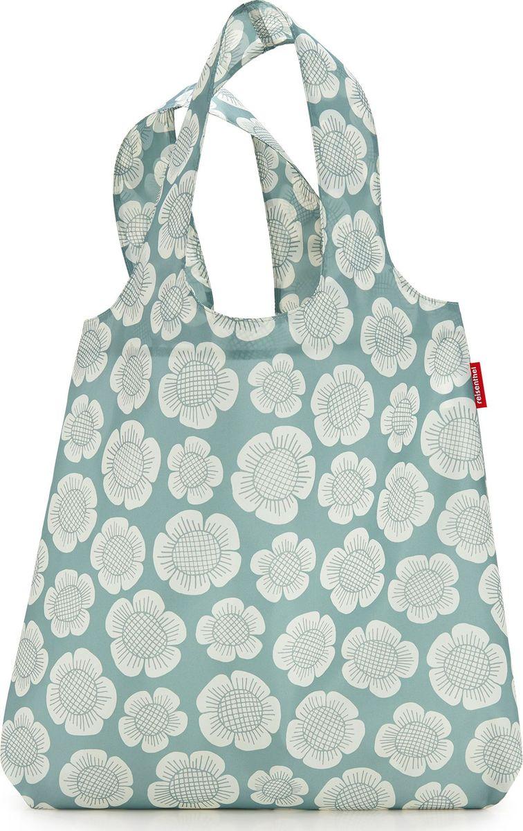 Сумка складная Reisenthel, цвет: серый. AT5037AT5037Привлекательная и практичная сумка Reisenthel для походов по магазинам является экологичной альтернативой одноразовым пакетам. Используя эту сумку, вы заботитесь об окружающей среде и при этом стильно выглядите.Сумка компактно сворачивается и фиксируется резинкой для удобства переноски.Вместительная и прочная сумка будет всегда под рукой на случай непредвиденных покупок. Удобные широкие лямки позволяют нести ее с комфортом. Во время похода в магазин в сумку поместится все самое необходимое.Материал – высококачественный полиэстер. Этот водоотталкивающий материал легко чистится и прекрасно выглядит. Сумка прослужит вам действительно долго и будет радовать своим удобством. Размер в сложенном состоянии: 12 х 6 х 2 см.Объем: 15 л.