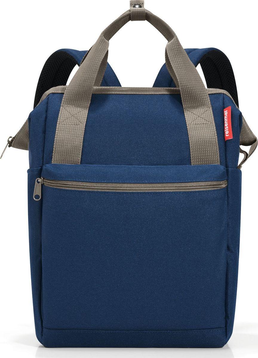 Сумка-рюкзак Reisenthel Allrounder R, цвет: синий. JR4059 reisenthel сумка allrounder l dots e5x dkcr