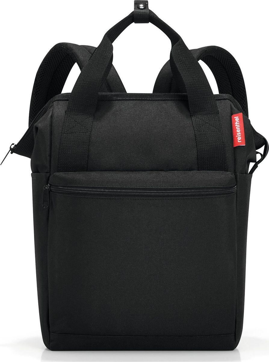 Сумка-рюкзак Reisenthel Allrounder R, цвет: черный. JR7003 reisenthel сумка allrounder l dots e5x dkcr