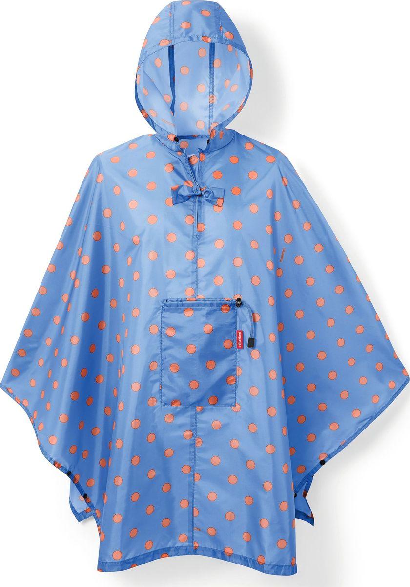 Дождевик Reisenthel, цвет: голубой, оранжевый. AN4058. Размер универсальный дождевики reisenthel дождевик mini maxi cactus blue