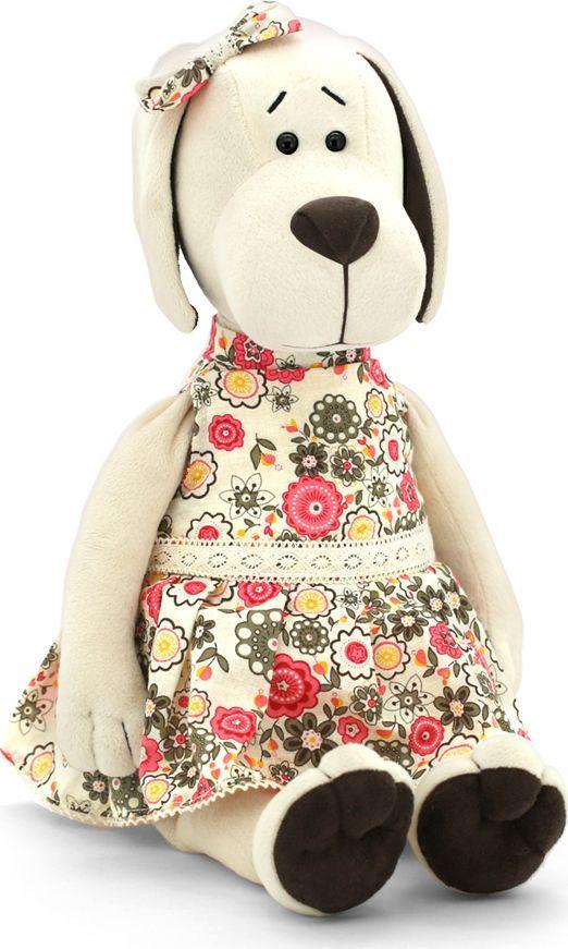 Orange Life Мягкая игрушка Собачка Лапуська в летнем платье 20 см OS121/20