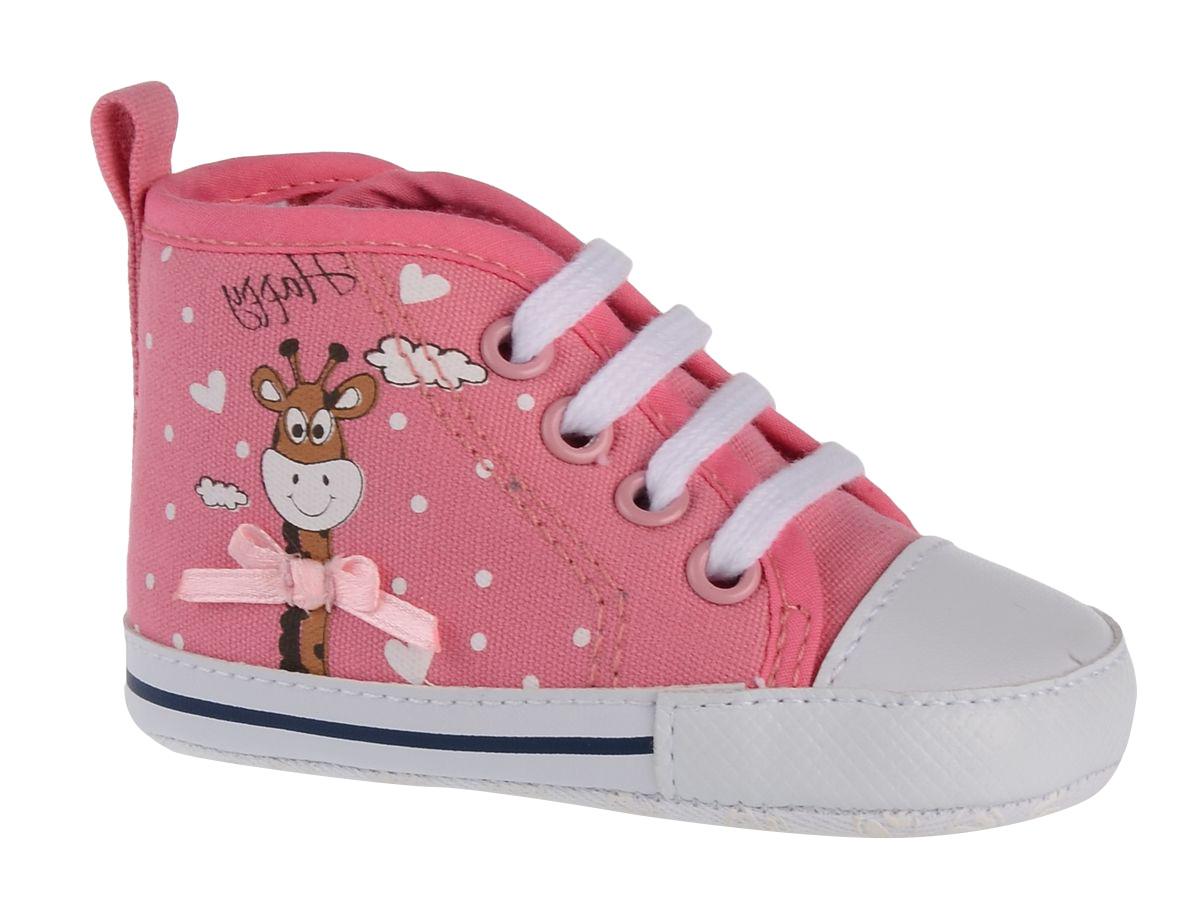 Пинетки детские Flamingo, цвет: розовый. 71Y-YXL-0080. Размер 1971Y-YXL-0080