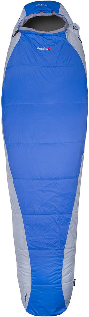 Мешок спальный Red Fox  Arctic-15 , цвет: синий, светло-серый, левосторонняя молния, 203 x 81 см - Спальные мешки