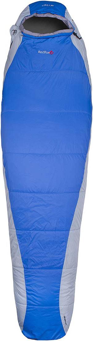 Мешок спальный Red Fox Arctic-15, цвет: синий, светло-серый, правосторонняя молния, 203 x 81 см пальто женское red fox цвет светло серый 1040747 размер l 50