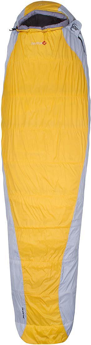 Мешок спальный Red Fox  Arctic-20 , цвет: желтый, светло-серый, левосторонняя молния, 203 x 81 см - Спальные мешки