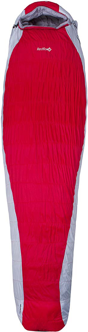 Мешок спальный Red Fox  Arctic-30 , цвет: красный, светло-серый, левосторонняя молния, 213 х 83 см - Спальные мешки