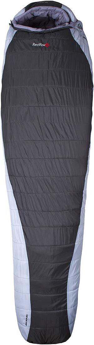 Мешок спальный Red Fox  Arctic-40 , цвет: серый, светло-серый, левосторонняя молния, 203 x 81 см - Спальные мешки