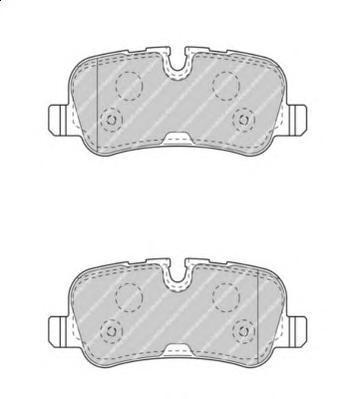 Колодки тормозные дисковые Premier Ferodo FDB4105FDB4105