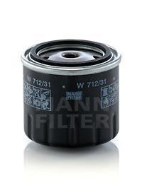 Фильтр масляный Mann-Filter W71231W71231