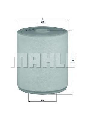 Фильтр воздушный AUDI A6/A7 2,8-3,0 10-=>LX20494