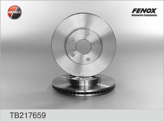 Диск тормозной Fenox TB217659 комплект 2 штTB217659