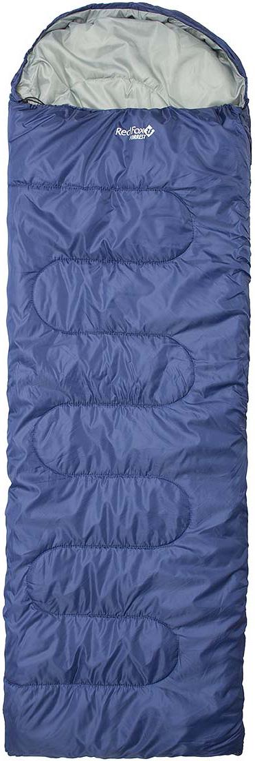 Мешок спальный Red Fox  Forrest , цвет: темно-синий, левосторонняя молния, 240 х 90 см - Спальные мешки