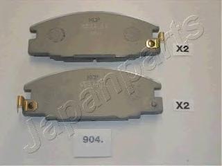 Колодки тормозные дисковые Japanparts PA904AFPA904AF
