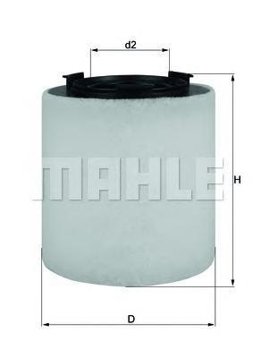 Фильтр воздушный Mahle/Knecht. LX2831LX2831