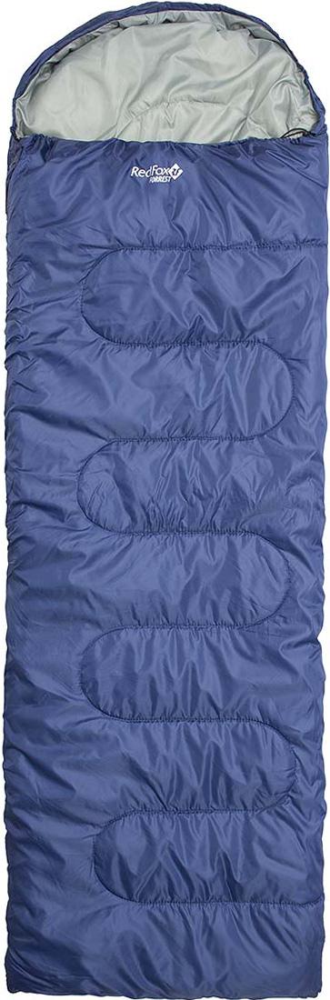 Мешок спальный Red Fox Forrest, цвет: темно-синий, правосторонняя молния, 240 х 90 см33893Одеяло с подголовником.- материал: Polyester 190T W/P- подкладка: Polyester 190T W/P- утеплитель: Vario Dry 2х100 g/m- диапазон температур, °С: +4,2 .. -0,9 .. -16,4- размер, см: Regular 230х80, XL Long: 240х90- вес, г: Regular 2000, XL Long 2040