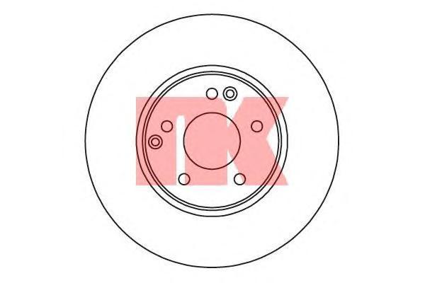 Диск тормозной NK 203341 комплект 2 шт203341