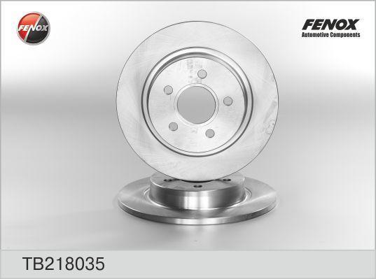 Fenox Диск тормозной. TB218035TB218035