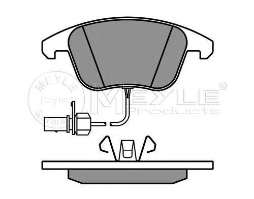 Колодки тормозные задние Meyle 0252470520W0252470520W