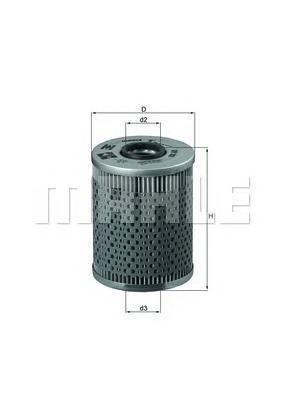 Фильтр масляный BMW E36/E34 2,0i/2,5i24V mot.M50/M52VANOS 09/90-04/99OX68D