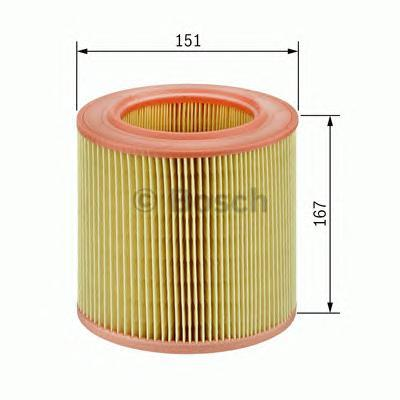Фильтр воздушный Bosch F026400027F026400027