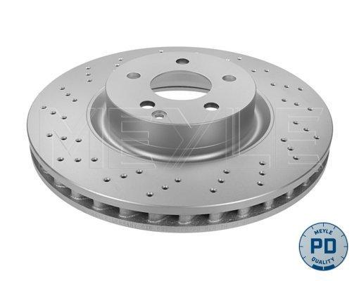 Диск тормозной передний вентилируемый 5 отв /PLATUNUM DISC/ Meyle 0835212105PD комплект 2 шт0835212105PD