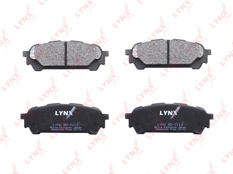 Колодки тормозные задние Lynx BD7113BD7113