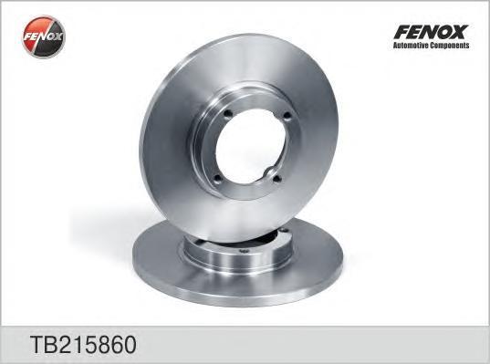 Диск тормозной Fenox TB215860TB215860
