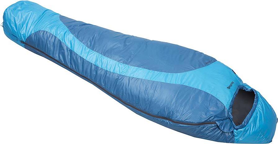 Мешок спальный Red Fox X-Light, цвет: голубой, левосторонняя молния, 200 х 80 см27893Сверхлегкий компактный спальный мешок для активных пеших и велопоходов, приключенческих гонок, путешествий. благодаря функциональному утеплителю Primaloft Infinity изделие прекрасно сохраняет тепло в условиях повышенной влажности. Предусмотрены петли для сушки и хранения.- материал: Nylon 37 g/m2- подкладка: Nylon 37 g/m2- утеплитель: PrimaLoft Infinity 120 g/m2- диапазон температур, °С: +8,7 .. +4,3 .. -9,9 (протестировано тестом EN 13537)- размер, см: Regular 200*80, XL long 220*90- вес, г: Regular 840, XL long 890