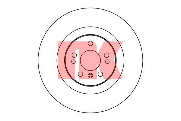 Диск тормозной NK 203393 комплект 2 шт203393