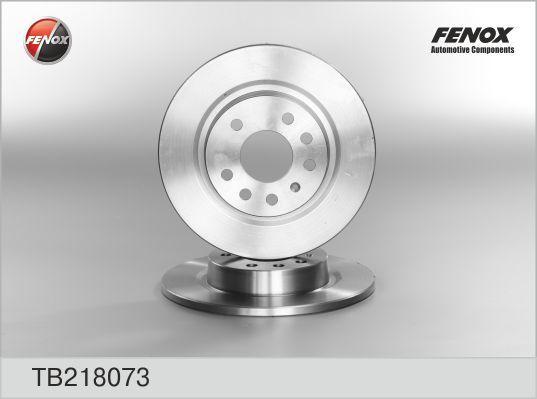 Диск тормозной Fenox TB218073 комплект 2 штTB218073