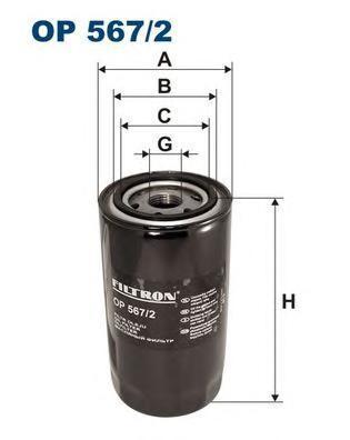 Фильтр масляный Filtron OP5672OP5672