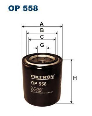 Фильтр масляный Filtron OP558OP558