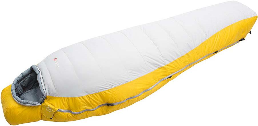 Мешок спальный Red Fox  Yeti-20 , цвет: желтый, светло-серый, правосторонняя молния, 203 x 81 см - Спальные мешки
