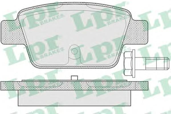 Колодки тормозные LPR / AP 05P78005P780