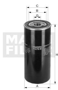 Масляный фильтр высокого давленияMann-Filter WD7245WD7245