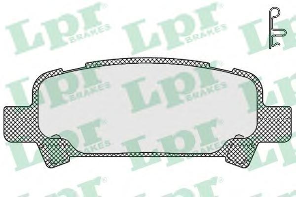 Колодки тормозные LPR / AP 05P83805P838
