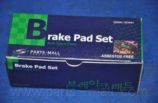 Колодки тормозные передние PMC PKB017PKB017