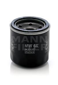 Фильтр масляный Mann-Filter MW64MW64