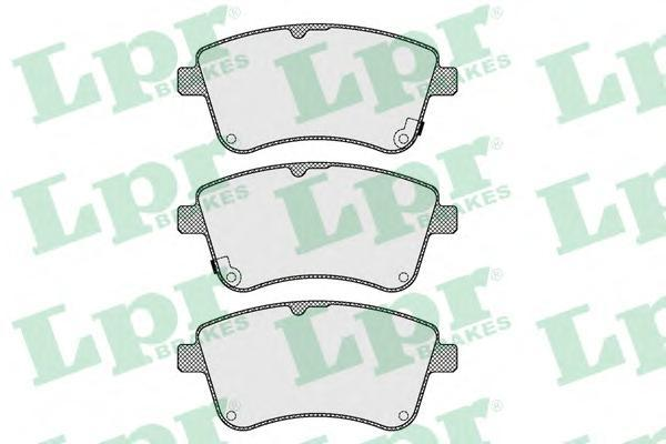 Колодки тормозные передние LPR / AP 05P162305P1623