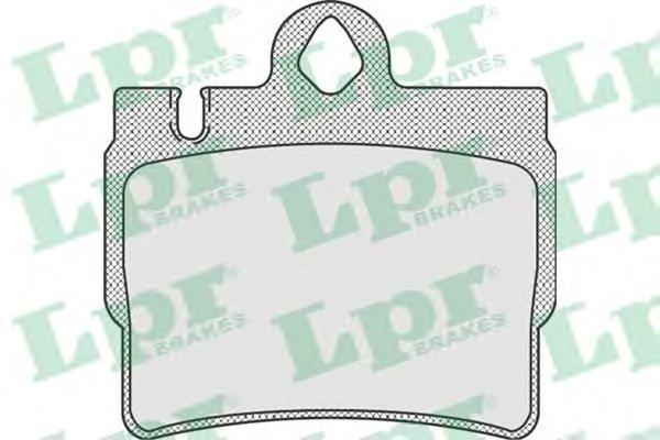 Колодки тормозные задниеLPR / AP 05P90505P905