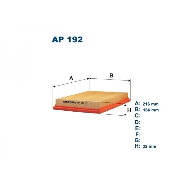 Фильтр воздушный Filtron AP192AP192