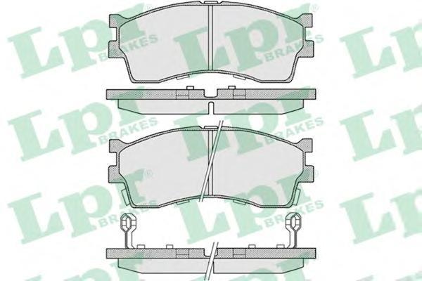 Колодки тормозные LPR / AP 05P80905P809
