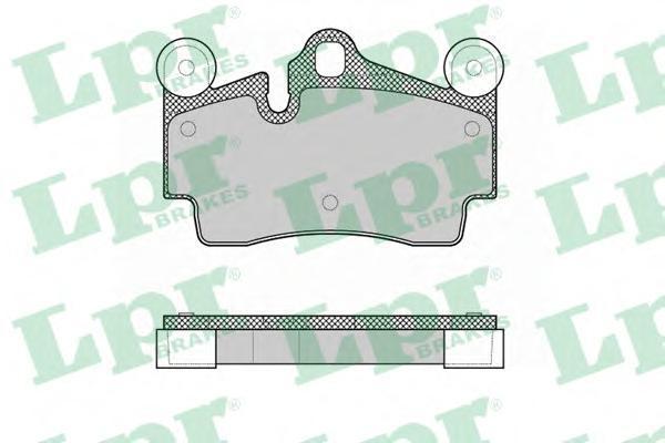 Колодки тормозные задние LPR / AP 05P136205P1362