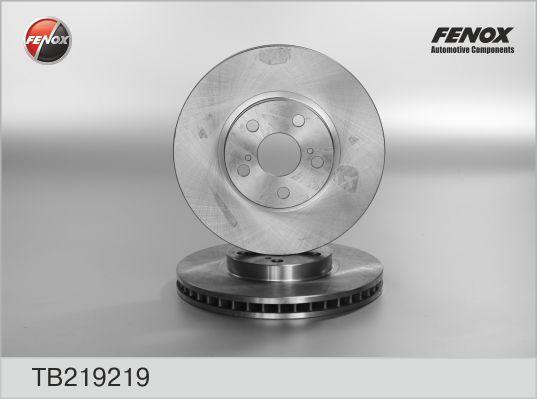 Диск тормозной Fenox TB219219 комплект 2 штTB219219
